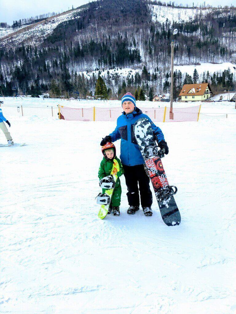 Snowboard instructor Szczyrk
